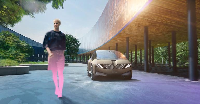 BMW iVision concept car